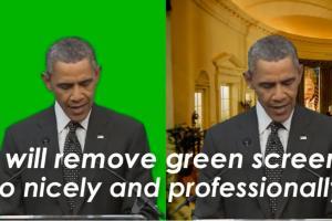 Portfolio for I will remove green screen in any video