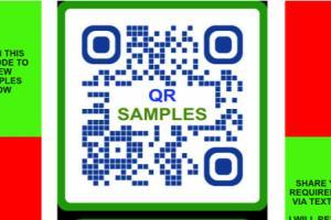 Portfolio for OR codes bar codes