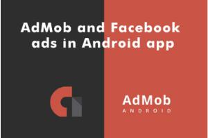 Portfolio for AdMob and Facebook ads in Android app