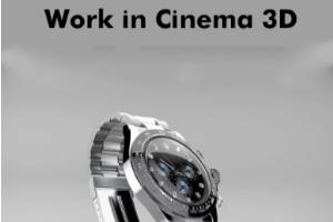 Portfolio for Work in Cinema 3D