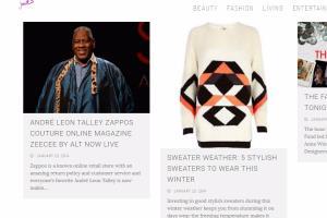 Portfolio for Fashion Blog Content Creation