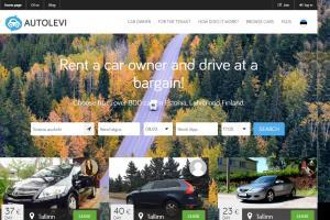Portfolio for Car Rental website development