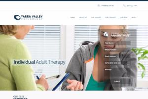 Psychology Treatment Website in Wordpress