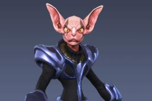 Portfolio for 3D Character Art - Video Game Ready