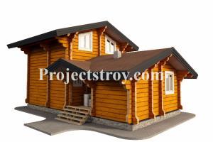 Portfolio for wooden house design