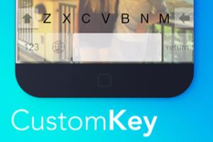 CustomKey - iOS Custom Keyboard app