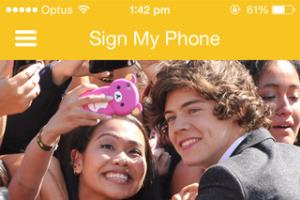 SignMyPhone - iOS & Android App to digitise Autographs
