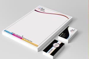 Business card & Letterhead designs