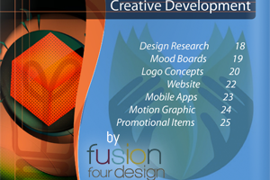 Portfolio for Annual Report, Cover & Page Design