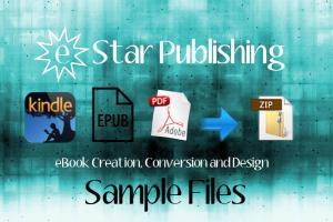 Portfolio for iTunes iBookstore epub creation/  upload