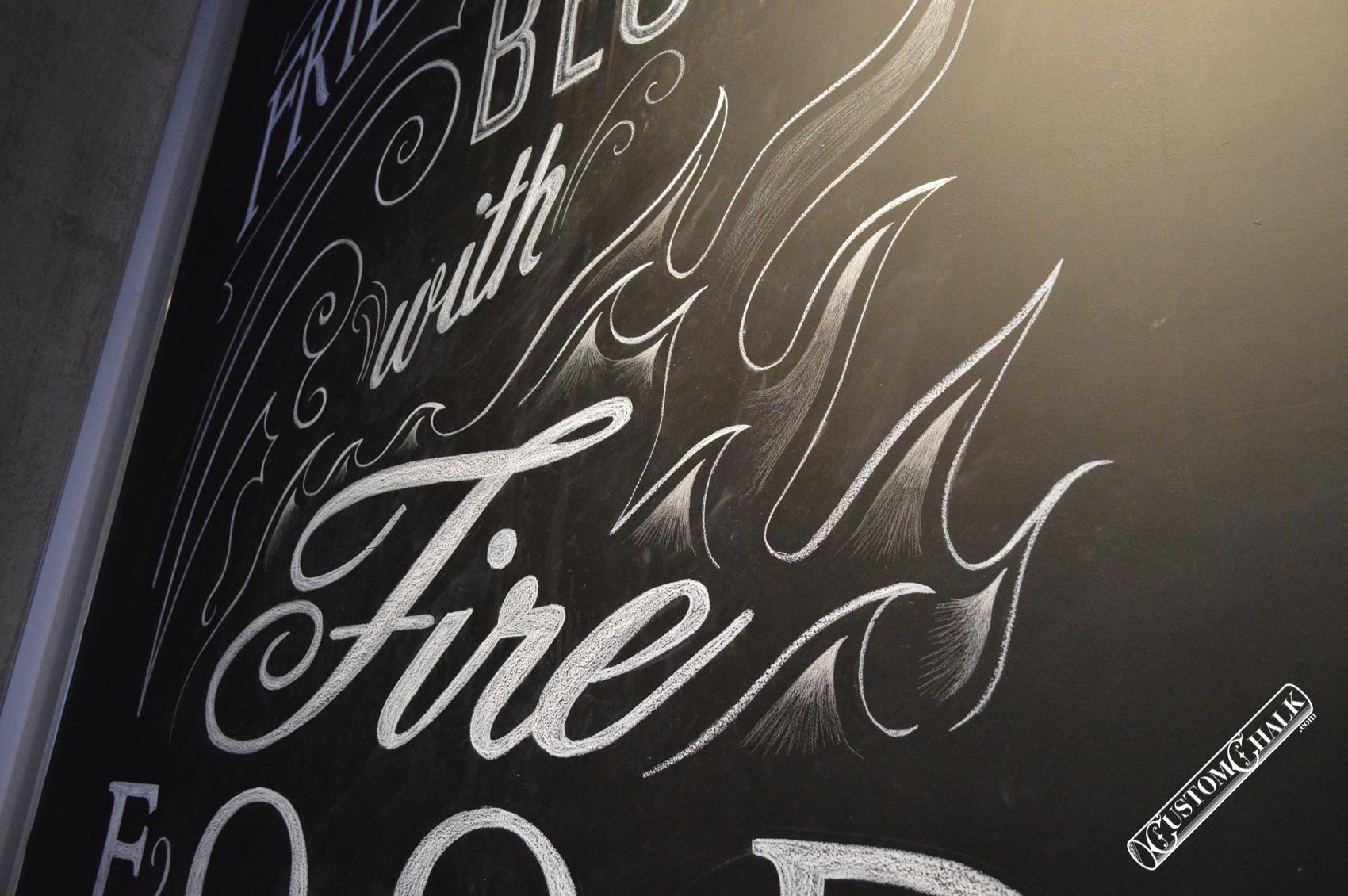NYC New York City Chalk Mural Artist CJ Hughes by CJ Hughes ...