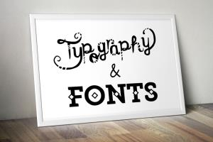 Portfolio for Fonts and Typography