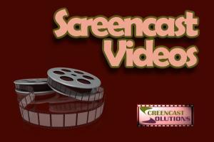 Portfolio for Screencast Videos