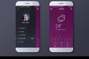 Portfolio for UI / UX Design for Mobile and PC