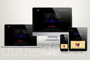 Portfolio for Design responsive website
