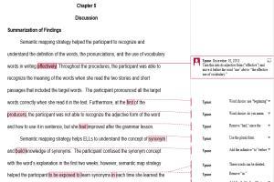 Portfolio for English Proofreading