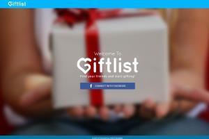 GiftList - Laravel, jQuery, PHP, MySQL
