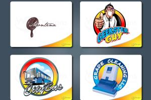 Portfolio for Logo, web template, illustration design