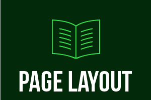 Portfolio for Page Layout