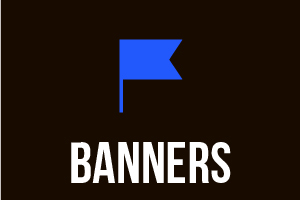 Portfolio for Banners and Web Sliders