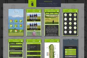 Portfolio for Golf clubs, hotels, restaurant apps