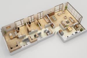 Portfolio for Architectural Floorplan Services
