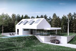 Portfolio for architectural visualizations