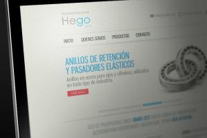 Website Representaciones Hego