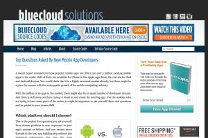 Blog content for Bluecloud Solutions