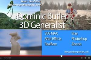 Portfolio for 3D Artist/ 3D Animator