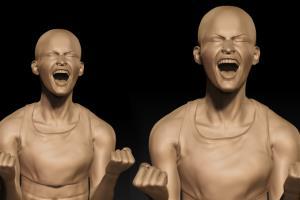 Zbrush dynamic pose sculpt