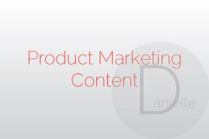 Portfolio for Product Marketing Content Creation