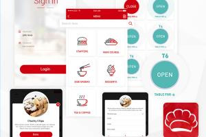 Portfolio for Restaurant Mobile Application