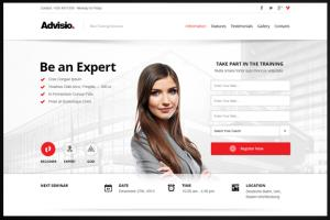 Portfolio for HTML5 Websites and Landing Pages
