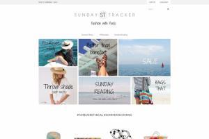 Sunday Tracker Shopify Site