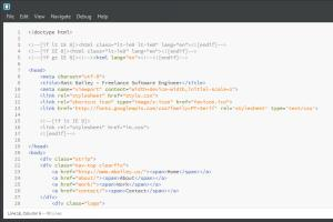 Portfolio for HTML5 & CSS3 Coding