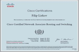 Portfolio for Cisco Certificate Network Professional