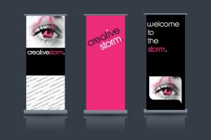 Portfolio for Banner Design (Print, Trade, Exhibition)