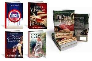 Portfolio for Print + E-Book Cover Design