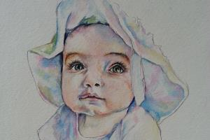 Portfolio for Fine Art Watercolor and Oil Portraits
