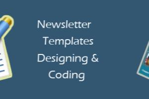 Portfolio for Newsletters designing & coding