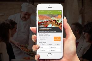 Dish Envy iOS app