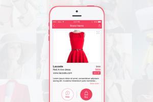 iPhone Fashion App
