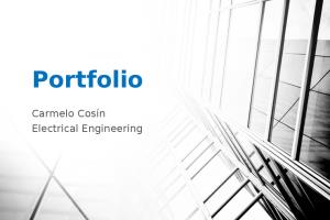 Portfolio for electrical engineering project