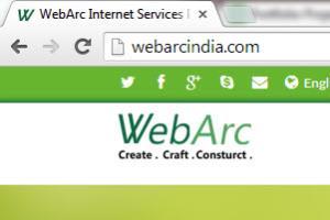 Portfolio for WebArc Internet Services Pvt. Ltd.