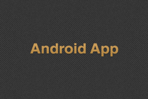 Portfolio for Andriod App