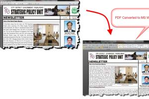 Portfolio for Convert PDF into editable Word, Excel or