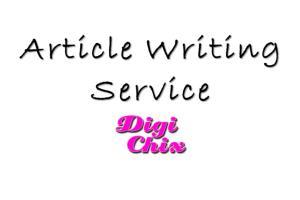 Article Writing Service by DigiChix