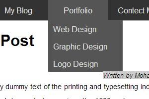 Portfolio for Inspired front-end web designer.