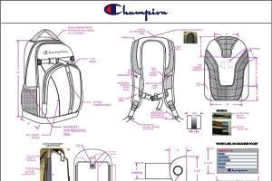 Portfolio for Bag, Backpack, Handbag & Luggage Design